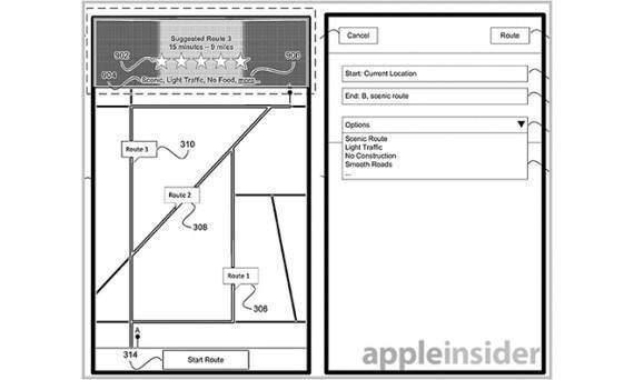 Apple brevetta un nuovo sistema di navigazione come Waze per iOS Mappe!