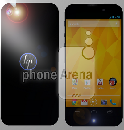 hp smartphone android