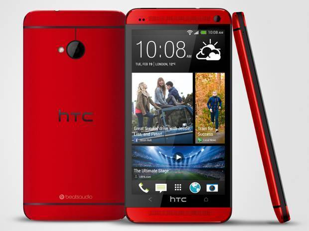 HTC One: l'elegante versione rossa si mostra in video!