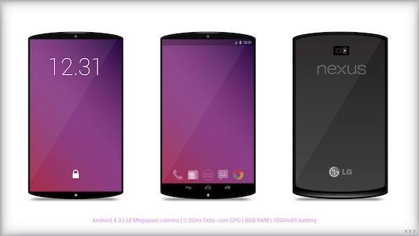 LG-F320, Snapdragon 800 per il Nexus 5?