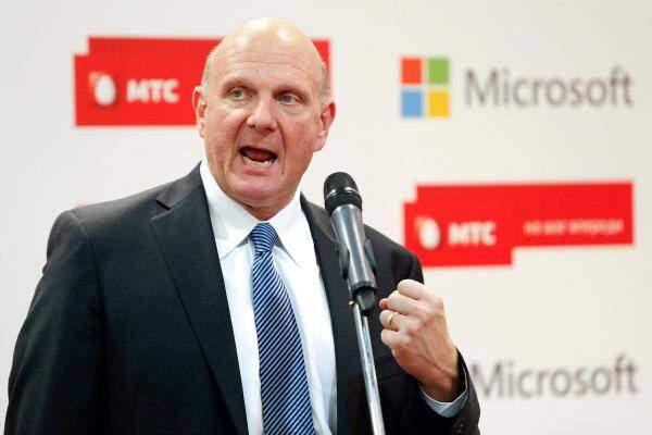 Steve Ballmer, CEO Microsoft, andrà in pensione entro 12 mesi
