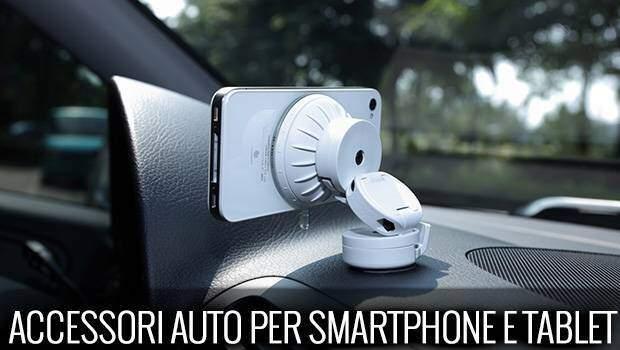 I migliori accessori per auto per Smartphone e Tablet | Guida