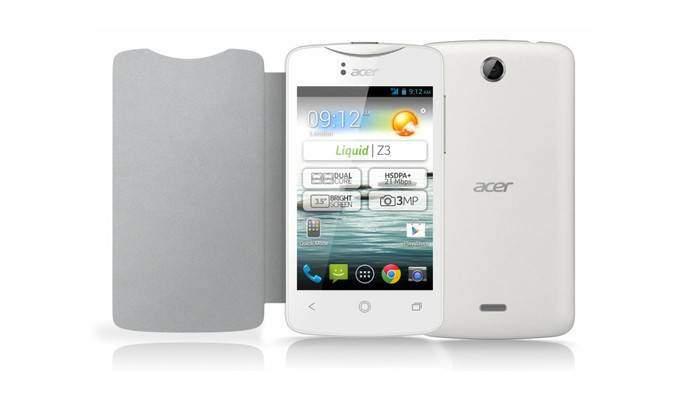 Acer Liquid Z3: caratteristiche tecniche e data di lancio!