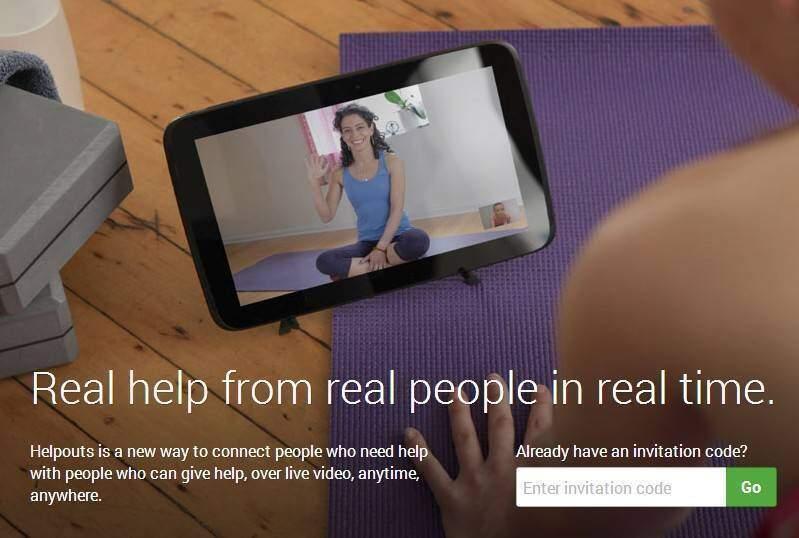 Helpouts: il nuovo servizio di Google per l'insegnamento tramite il Web!