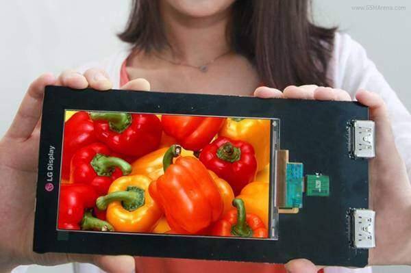 LG presenta il primo display per smartphone da 2560×1440 pixel