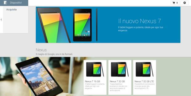 Google Play Devices apre i battenti anche in Italia (finalmente!)