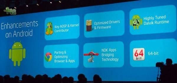 Android 4.4 KitKat supporta processori 64-bit?
