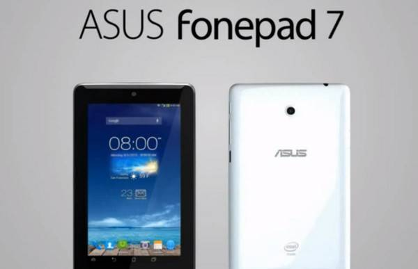 Nuovo ASUS Fonepad 7 svelato per errore in video