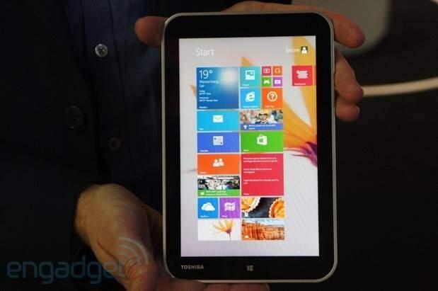 Toshiba Encore: tablet Windows 8.1 economico da 8 pollici!