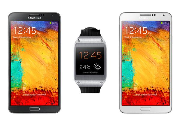 Samsung Galaxy Note 3 e Galaxy Gear in arrivo in Europa dal 25 di Settembre!