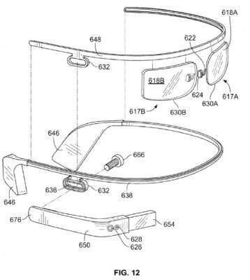 google glass nuovo design