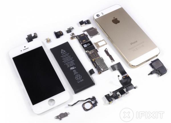 iPhone 5S, il teardown di iFixit