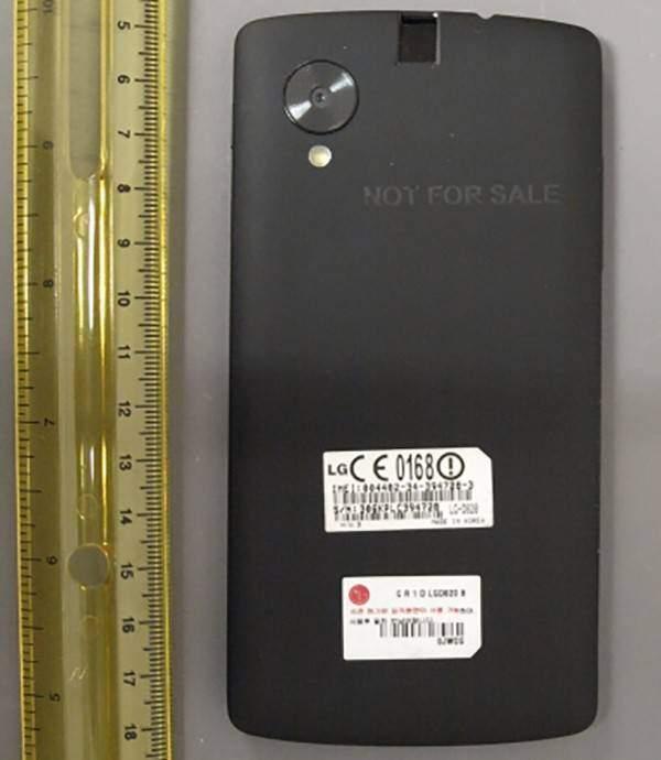 Nexus 5, confermate le dimensioni