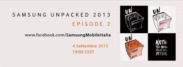 Evento di presentazione Samsung Galaxy Note 3 e Galaxy Gear: live streaming!