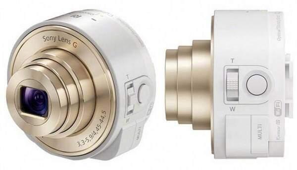Sony QX10 e QX100, nuove lenti per smartphone