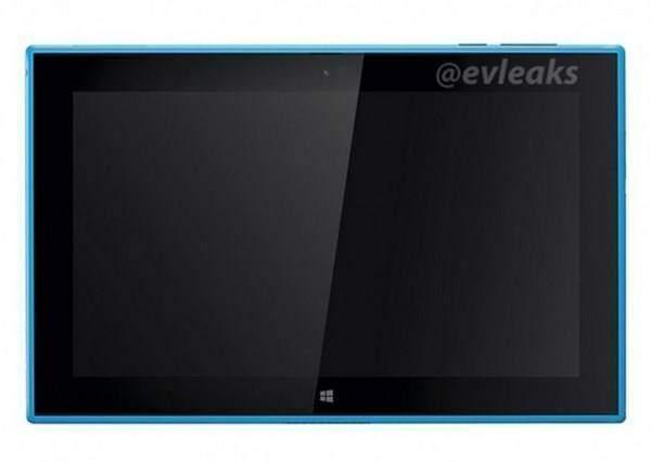 Nokia Lumia 2520, render conferma il colore ciano