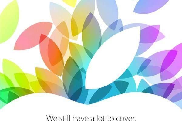 Nuovi iPad il 22 ottobre, è ufficiale