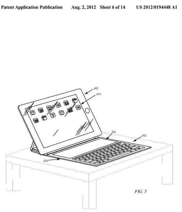 Nuovi iPad, cover tastiera simile a Surface?