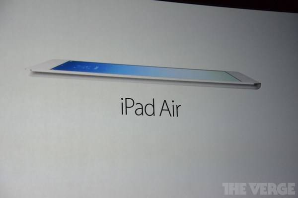 iPad Air, ecco il nuovo tablet Apple
