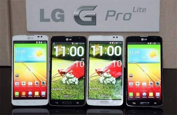 LG G Pro Lite: display 5.5 pollici e batteria 3140 mAh