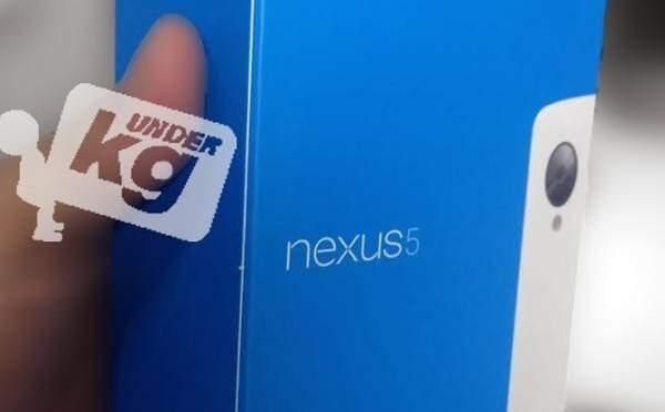 Nexus 5: ecco la sua bellissima scatola e una nuova colorazione!