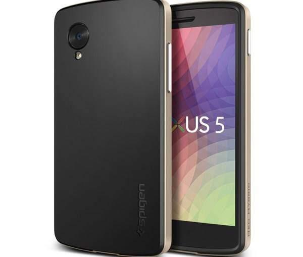 Nexus 5, le custodie Spigen confermano il lancio