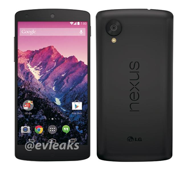 Nexus 5: ecco una bellissima nuova immagine ufficiale!