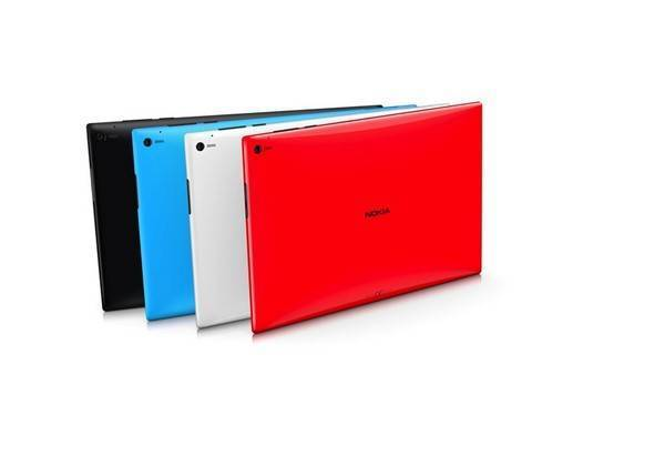 nokia lumia 2520 colors