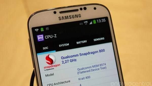 Samsung Galaxy S4 con Snapdragon 800 arriva in Europa
