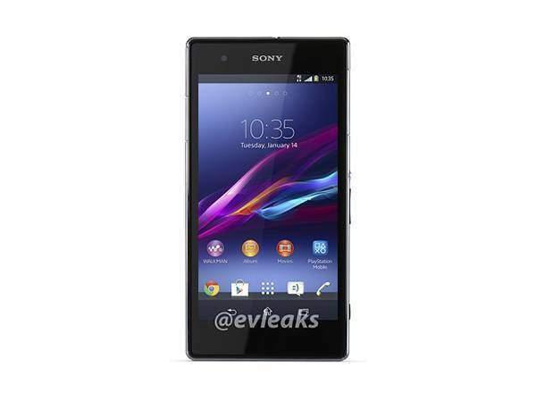 Sony Xperia Z1S, prima immagine in rete