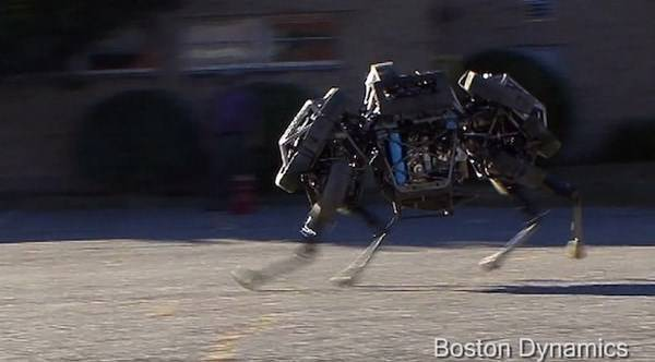 WildCat, primo video del robot quadrupede per esterni