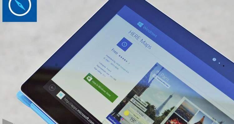 Nokia Here Windows 8