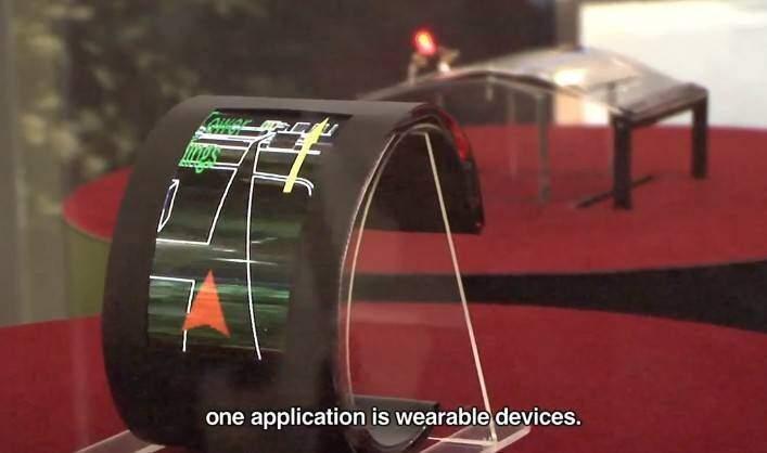 SEL: ecco il vero display flessibile che può mostrare animazioni nelle curvature! [video]