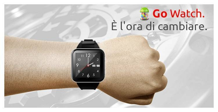 Ekoore Go Watch: un nuovo smartwatch con Android 4.3 a 129,90€!