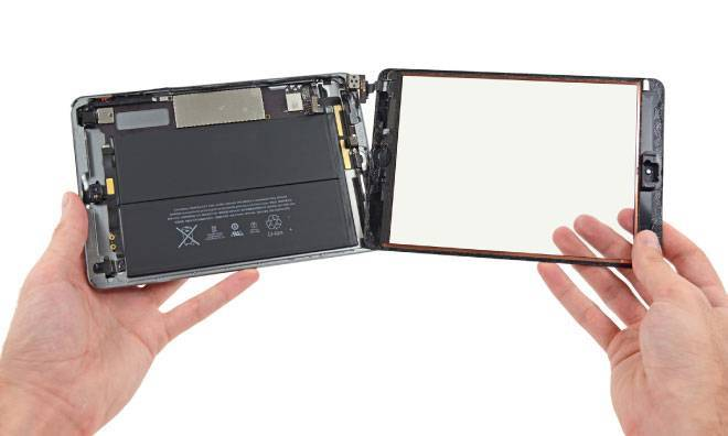 ipad mini retina teardown display