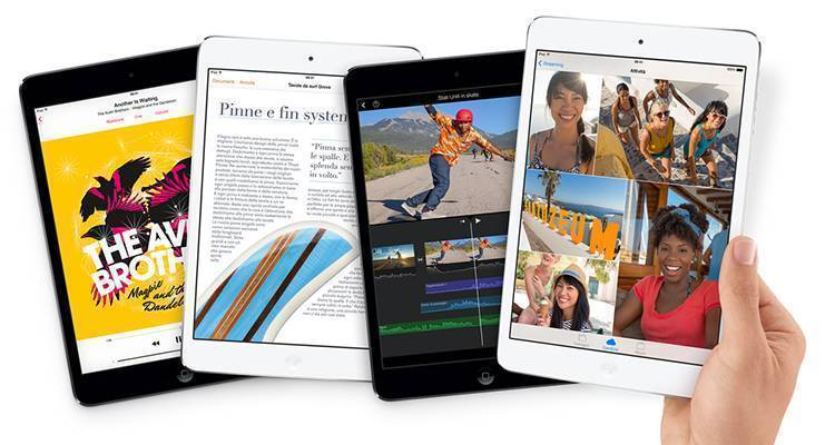 iPad Mini Retina arriva in Italia