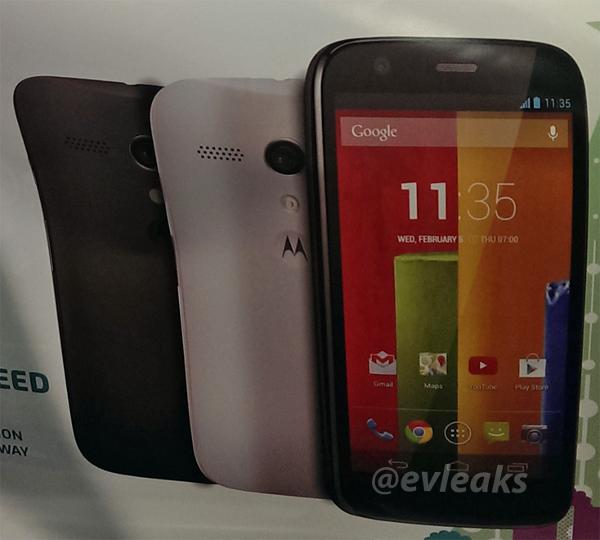Motorola Moto G verrà annunciato il 13 Novembre (ufficiale)