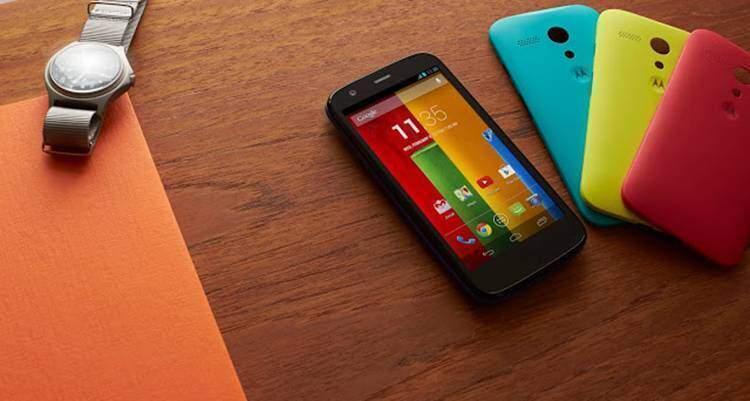 Motorola Moto G, Android 4.4.2 KitKat arriva in Europa
