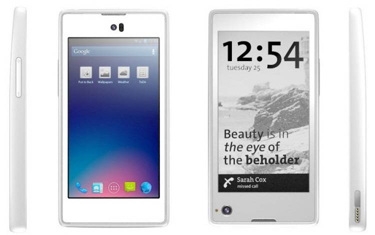 Arriva YotaPhone, lo smartphone dotato di doppio display