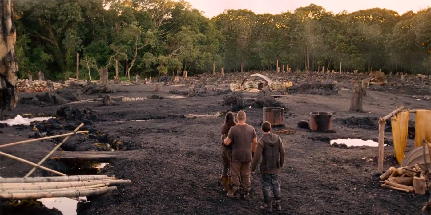 Noah: primo Trailer del film dell'arca di Noè con Russell Crowe