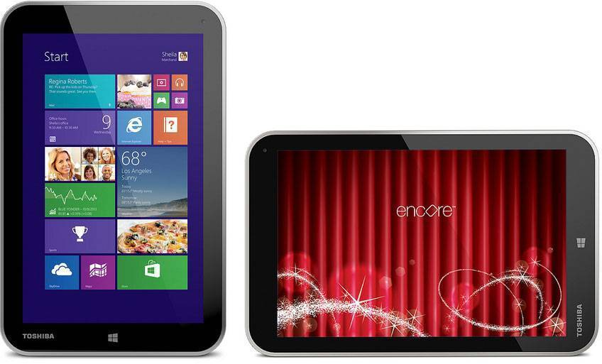 Toshiba Encore: arriva in pre-ordine su Amazon.it!