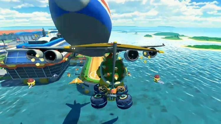 Mario Kart 8, trailer mostra nuove piste e personaggi
