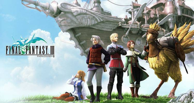 Final Fantasy III, il remake arriva su Windows Phone