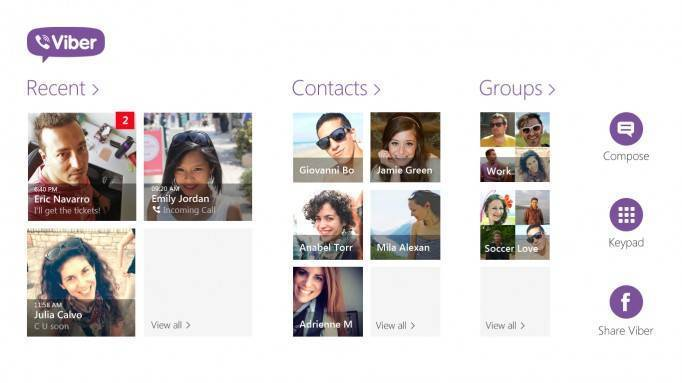 viber windows 8 app