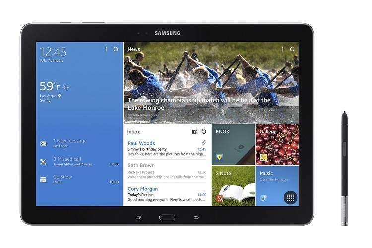 Samsung Galaxy Note Pro 12.2: caratteristiche tecniche e video hands-on