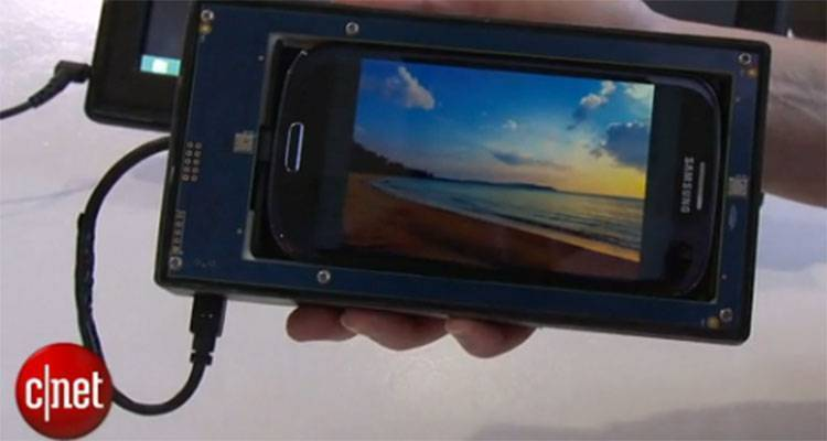 Samsung Galaxy S4 touchless gesture