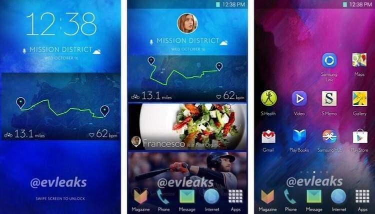 Samsung lavora ad una nuova interfaccia per gli smartphone futuri (Foto)
