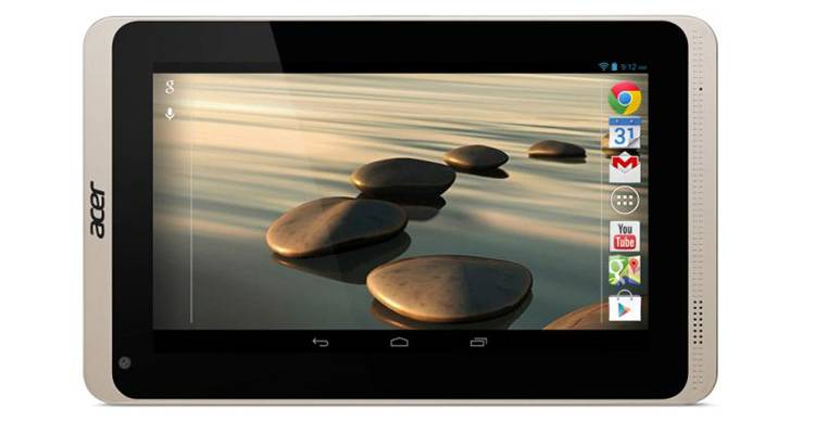 Acer Iconia B1-720, nuovo economico tablet Android