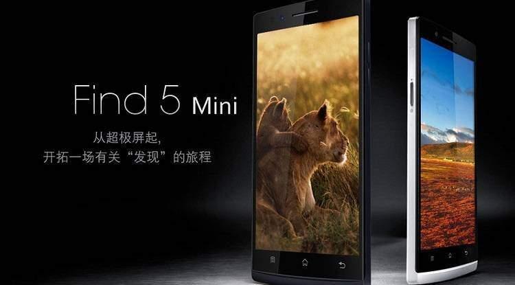 Oppo: Find 5 Mini è realtà, ma solo in Indonesia