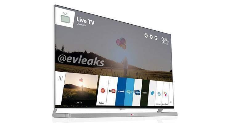 LG webOS TV, trapela la prima immagine